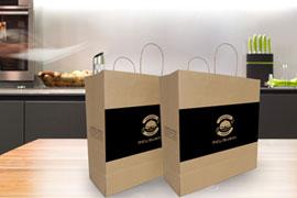 Sacolas de Papel Reciclável